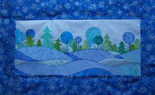 Snow Scene Quilt