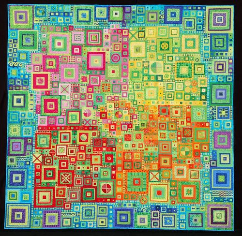 LittleCitiesQuilt by Kathy York
