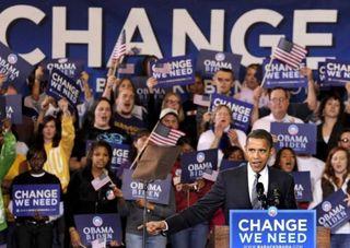 Obama at JMU