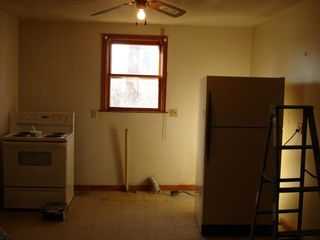 Kitchen before