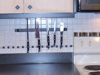 Kitchen knife rack