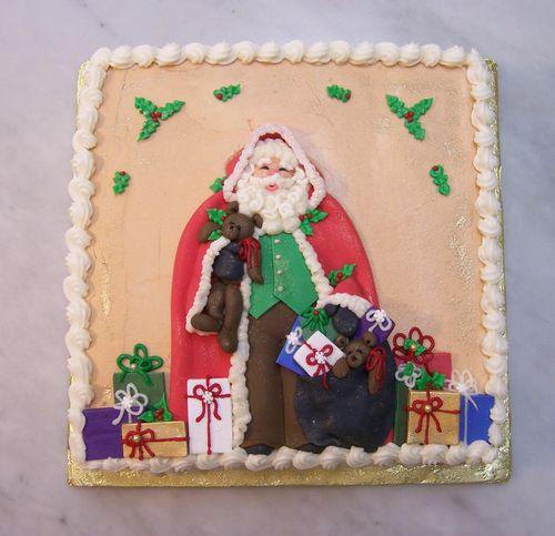 Father Christmas Cake